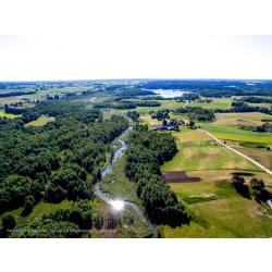 Rzeka Rospuda w miejscowości Kotowina - Kliknięcie spowoduje wyświetlenie powiększenia zdjęcia