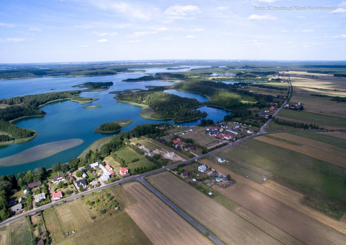Miejscowość Bryzgiel nad jez. Wigry - Kliknięcie spowoduje wyświetlenie powiększenia zdjęcia