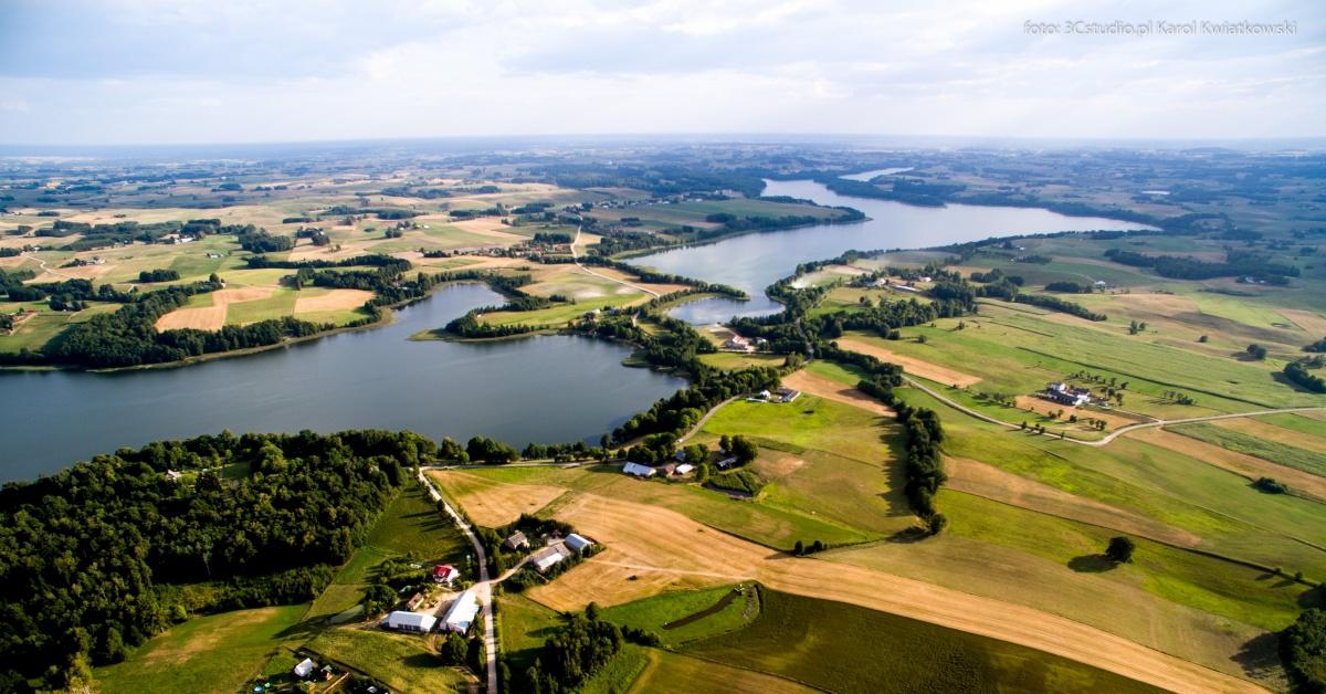 Jeziora: Szelment Wielki i Szelment Mały - Kliknięcie spowoduje wyświetlenie powiększenia zdjęcia